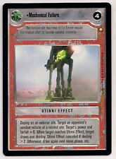 Star Wars CCG SE LS RARE Mechanical Failure
