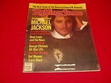 "Rolling Stone Michael Jackson ""Trouble in Paradise?""  3-15-1984"