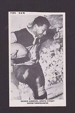 1967  THE SUN  GEORGE AMBRUM   NORTHS   PHOTO CARD