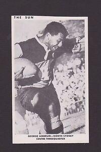 1967  THE SUN  GEORGE AMBRUM   NORTHS   PHOTO CARD