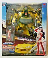 Brand-New TAKARA Transformers BINALTECH Asterisk SUNSTREAKER Viper & Junko MIB