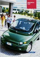 Prospekt Fiat Multipla 3/03 brochure 2003 Auto PKWs Broschüre Autoprospekt