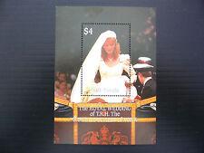 TUVALU Nui Wholesale 1986 Royal Wedding M/Sheet x 100 U/M SALE PRICE FP1211