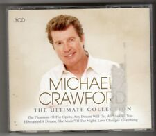 (HN824) Michael Crawford, The Ultimate Collection - 2012 triple CD