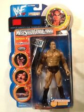 THE ROCK WWF 2001 Jakks Pacific Wrestlemania XVII Series 9 TTL Action Figure