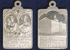 MEDAGLIA 1° CENTENARIO ISTITUTO FIGLIE DI MARIA  SS. DELL' ORTO 1829/1929 #MD937
