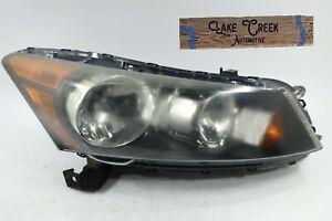 FACTORY OEM | 2008-2012 Honda Accord SEDAN Halogen Headlight (Right/Passenger)
