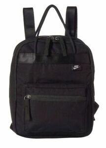 Nike Unisex Tanjun Holdall Mini Backpack Small Items Travel Bag Black BA6098 010