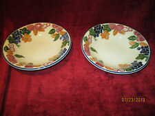 Staffordshire tableware chianti set of 2 soup bowls