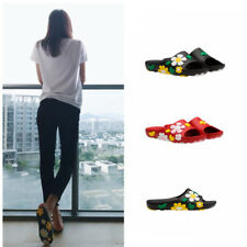 Womens Flower Casual Open Toe Slippers Summer Beach Sandal Shoes