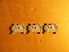Phoenix Contact Typ Clipfix 35-5 End Clamp Terminal Block, Lot of 3 *FREE SHIP*