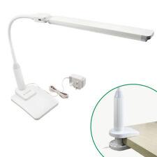 Lampe de Table de Bureau a LED 5W Dimmable Tactile Fonctionnel a Pince et Base