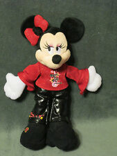 Disney land World Parks Minnie Mouse Rock n Roll Princess vinyl pants 11""