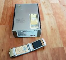 Motorola KRZR K1 in Gold  Klapphandy/Foldphone komplett und OVP