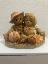 2001 Cherished Teddies 🎃 Dennis and Barb Fall Harvest Couple 🎃
