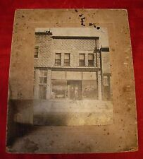 1909 - Boston - Cabinet Photo - C H Smith - Plumbing - Caleb Smith - First Shop