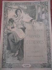 catalogue livres d'étrennes , histoire d'Orient , tour Monde année 1900 (ref 24)