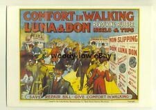 ad3451 - Luna & Don - Revolving Rubber Heels & Tips - Modern Advert Postcard