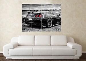 **UK SELLER** Nissan GTR R35 Supercar XXL OVER 1 METER WIDE Glossy Poster