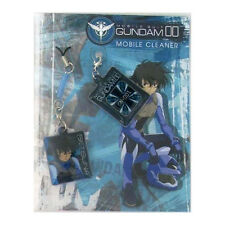 Gundam 00 Screen Wiper Phone Strap Set Setsuna NEW