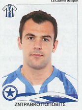 N°088 ZDRAVKO POPOVIC CROATIA ATROMITOS STICKER PANINI GREEK GREECE LEAGUE 2010