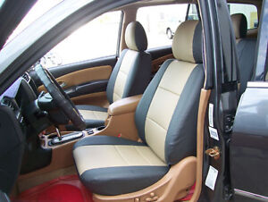 Brown Custom Car Seat Cover for Hummer H1 H2 H3 5-Seat Car Seat Cushion Cover Full Set Needlework PU Leather Luxury Set