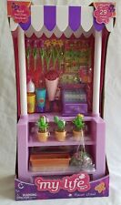 "My Life Flower Stand Fits 18"" Doll's A Girl My Generation New 29 Piece."