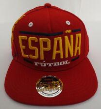 3efd9d0fa4b SPAIN SOCCER HAT CAP FUTBOL WORLD CUP FRANCHISE STRAPBACK BRAZIL 2014 MENS  NEW