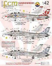 FCM Decalcomanie 1/72 F-14A TOMCAT In perfatta condizione-111 Bere APERITIVI parte 2 # 72042