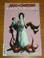 ARMY OF DARKNESS ASH GETS HITCHED #1 DYNAMITE COMICS