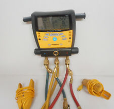 Fieldpiece SMAN360 3-Port Digital Manifold & Micron Gauge 45 refrigerants