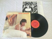 MICK JAGGER SHE'S THE BOSS + INNER RARE 1985 CBS SONY HONG KONG RELEASE LP
