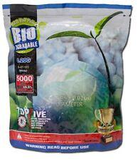 BUSTA 1KG 5000 PALLINI SOFTAIR BIO 0.20 BIANCHI - G&G airsoft bbs biodegradabili
