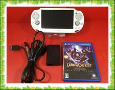 PlayStation PS Vita OLED Console System ice silver Limited Edition charger USED