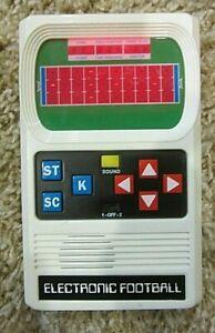 Basic Fun Retro Handheld Football Electronic Game by Mattel, One Size - White