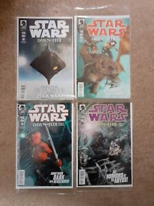 STAR WARS - Dawn of the Jedi. Issues 0,2,3 & 4 in NM condition.