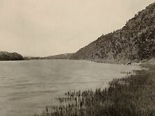 1899 STAMPA SUD AFRICA COLONIALE DEL KING'S BEACH kowie River