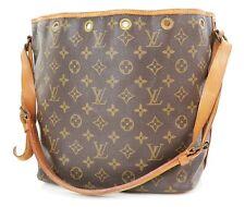 Authentic LOUIS VUITTON Petit Noe Monogram Shoulder Tote Bag Purse #37456