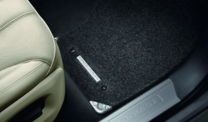 Range Rover Sport - Luxury Carpet Mat Set - RHD, Ebony with Ingot Branding