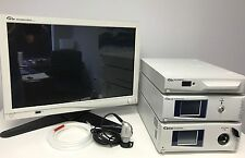 """Stryker 1488 HD CMOS Camera L9000 LED Light Source and 26"""" Wise Wireless Monitor"""