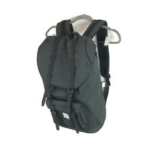 HERSCHEL SUPPLY CO LITTLE AMERICA BACKPACK AWAY Grey- Black $110 New