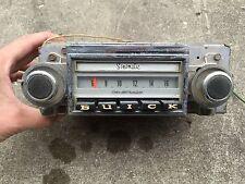 Original Dash Indash Radio Chevy Buick Sonomatic 7302504 Delco Oem 1950s 1960s