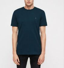 All Saints Mens Tonic Crew Neck T-Shirt Teal Medium