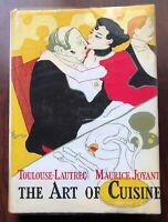 The Art of Cuisine Henri de Toulouse-Lautrec Maurice Joyant First Edition 1966