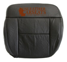 2007 Ford F-150 Lariat -Driver Side Bottom Replacement Leather Seat Cover Black