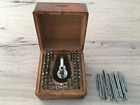 G. Boley Watchmaker Staking Tool Kit 84 Pieces in original Box