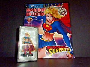 Eaglemoss DC Comics Super Hero Collection SUPERGIRL #14 W/Magazine MIB