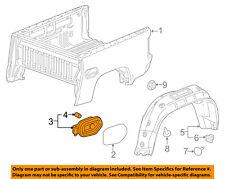 GM OEM Pick Up Box Bed-Fuel Pocket 23505172