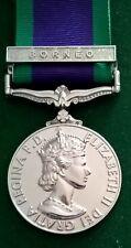 Campaign Service Medal Borneo clasp copy