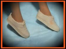 #10 BARBIE DOLL TENNIS SHOES WHITE TENNIS ANYONE LACE UP SNEAKERS JAPAN